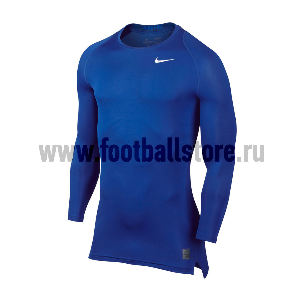 Белье футболка Nike Cool Comp LS 703088-480 nike nike pro hypercool compression tight