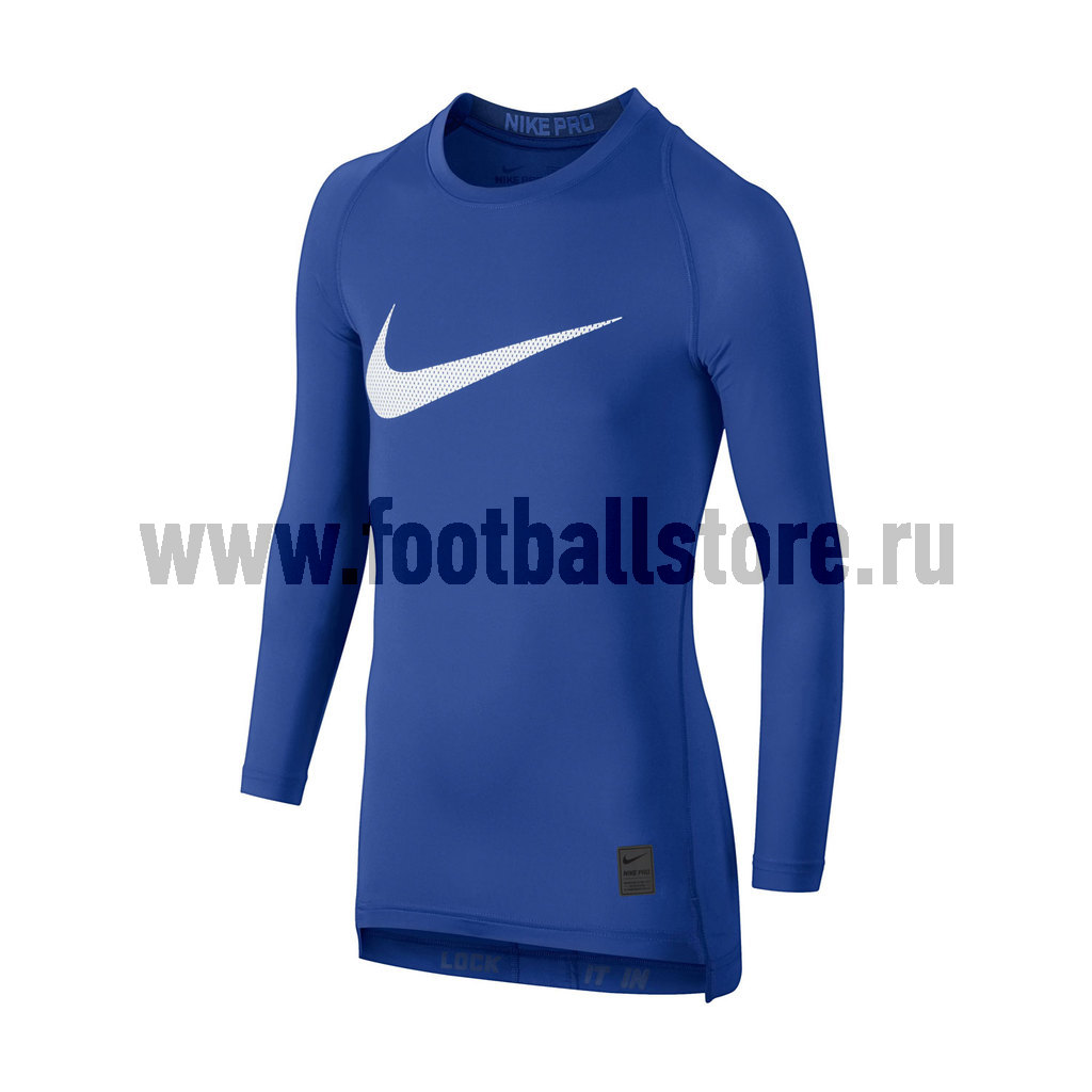 Белье футболка подростковая Nike Cool HBR Comp LS YTH 726460-480