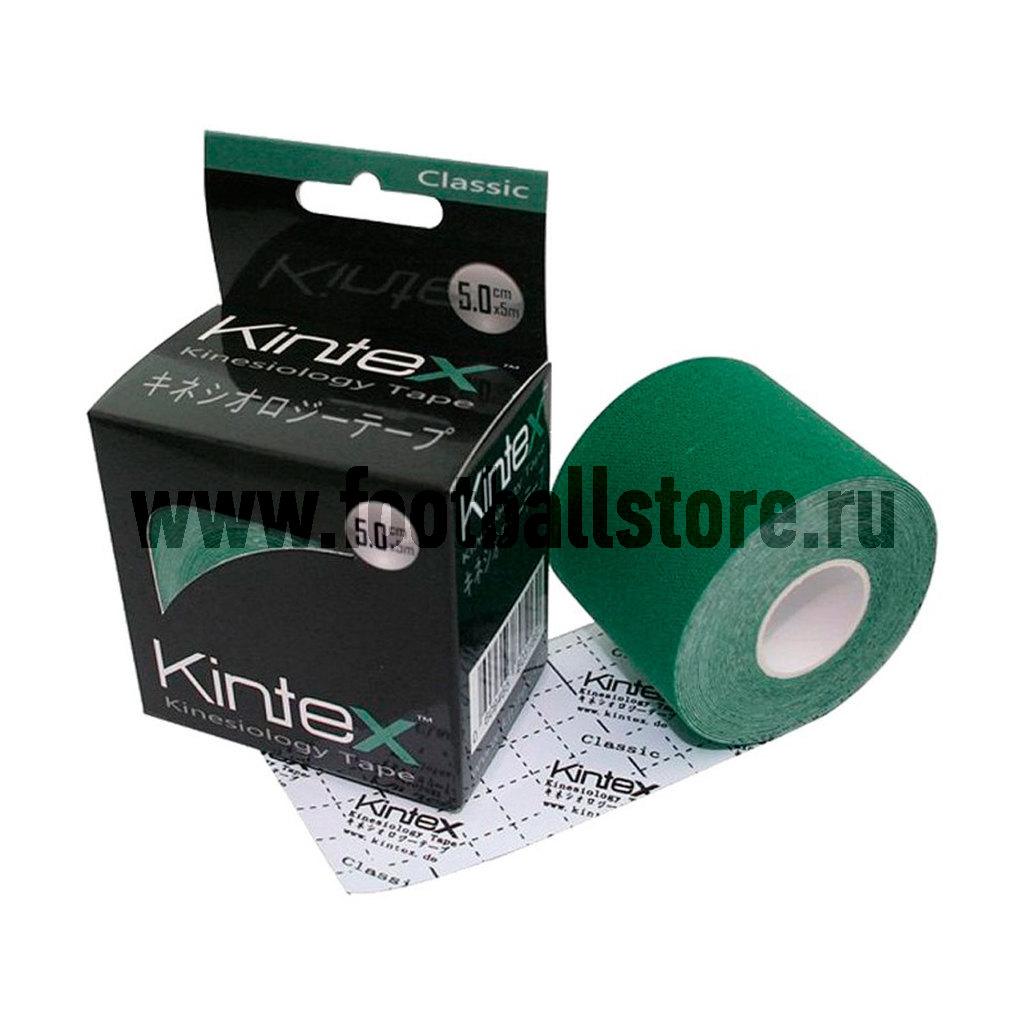 Тейп Kintex, classic, зеленый, 5см х 5м