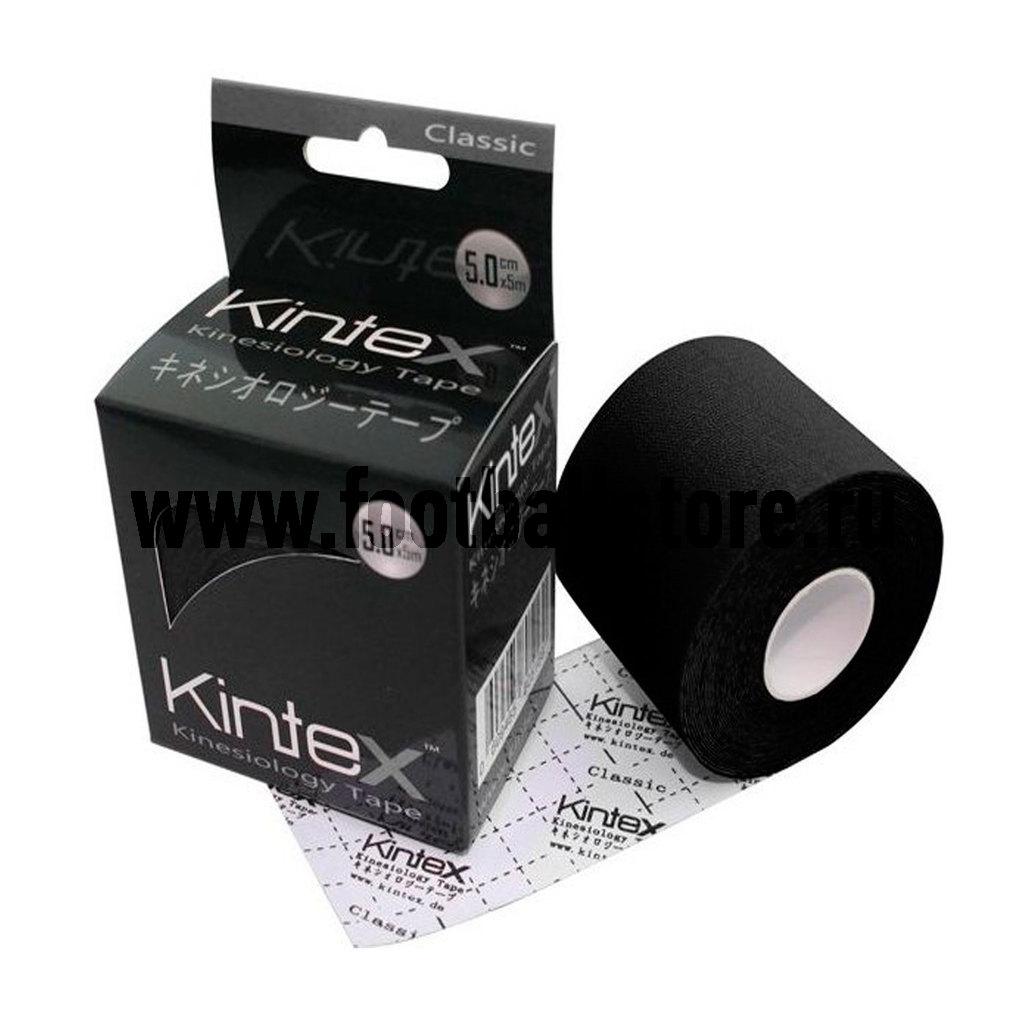 Медицина Kintex Тейп Kintex, classic, черный, 5м пленка тонировочная president 5% 0 5м х 3м