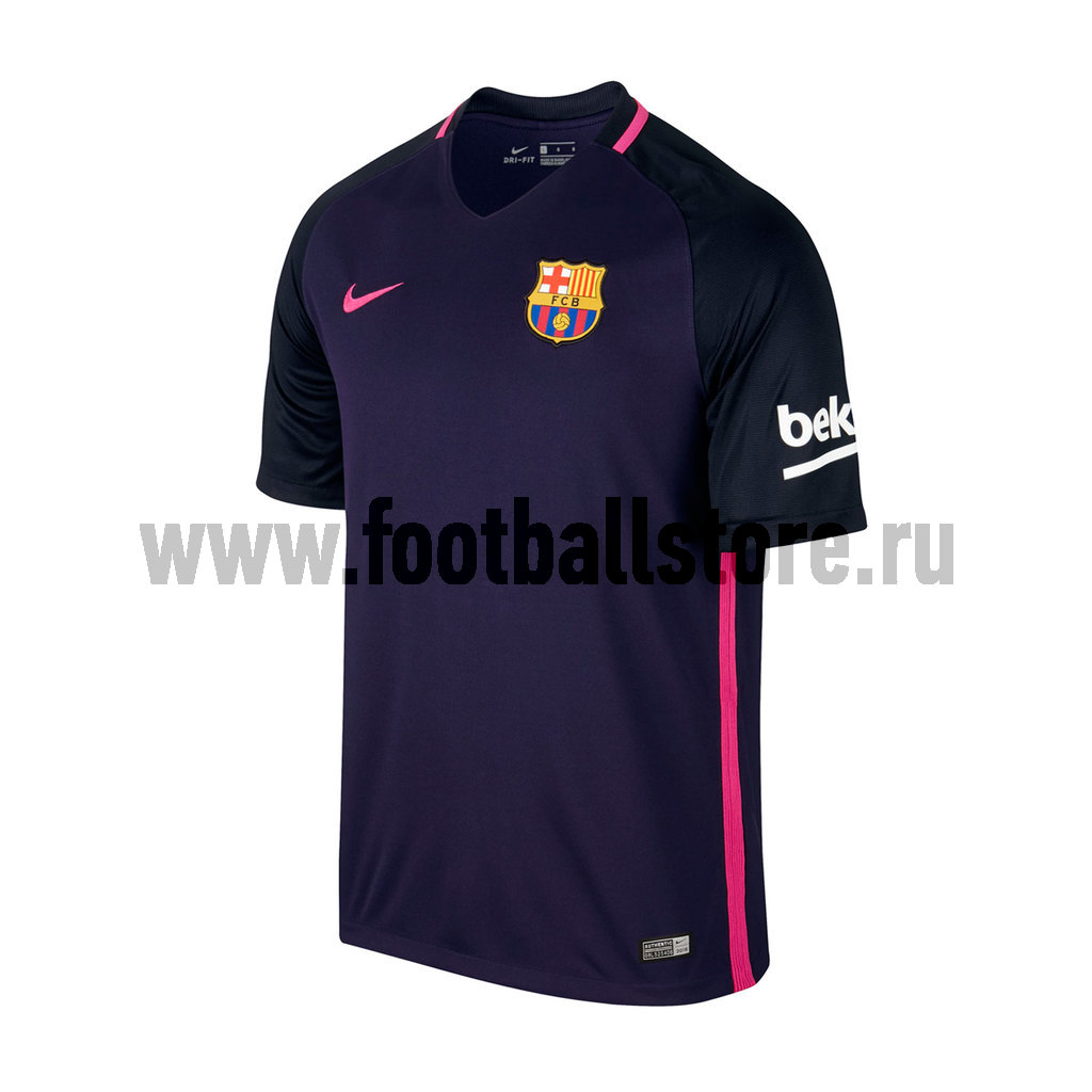 Barcelona Nike Футболка игровая Nike Barcelona Away Stadium JSY 776844-525