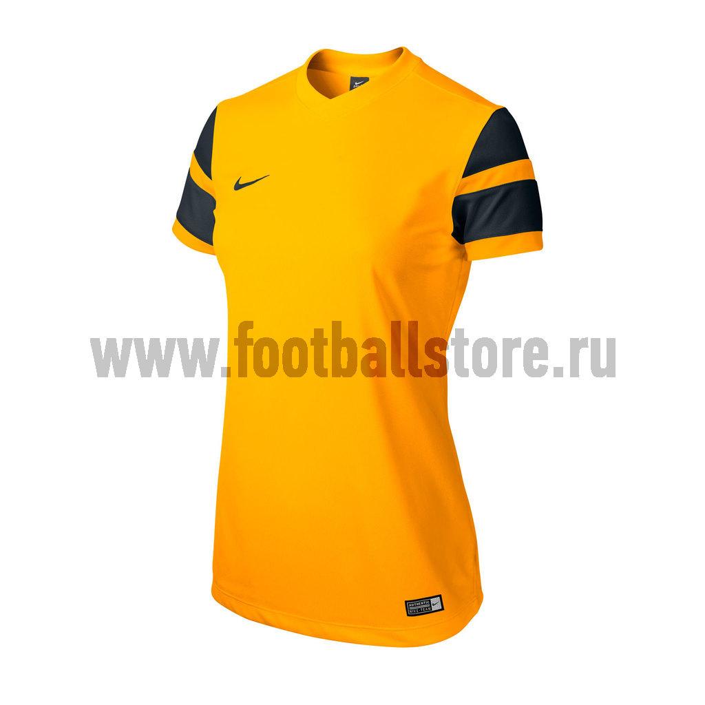 Футболки Nike Футболка игровая женская Nike SS WS Trophy II Jersey 588505-739 игровая форма nike футболка детская nike ss precision iii jsy boys 645918 410