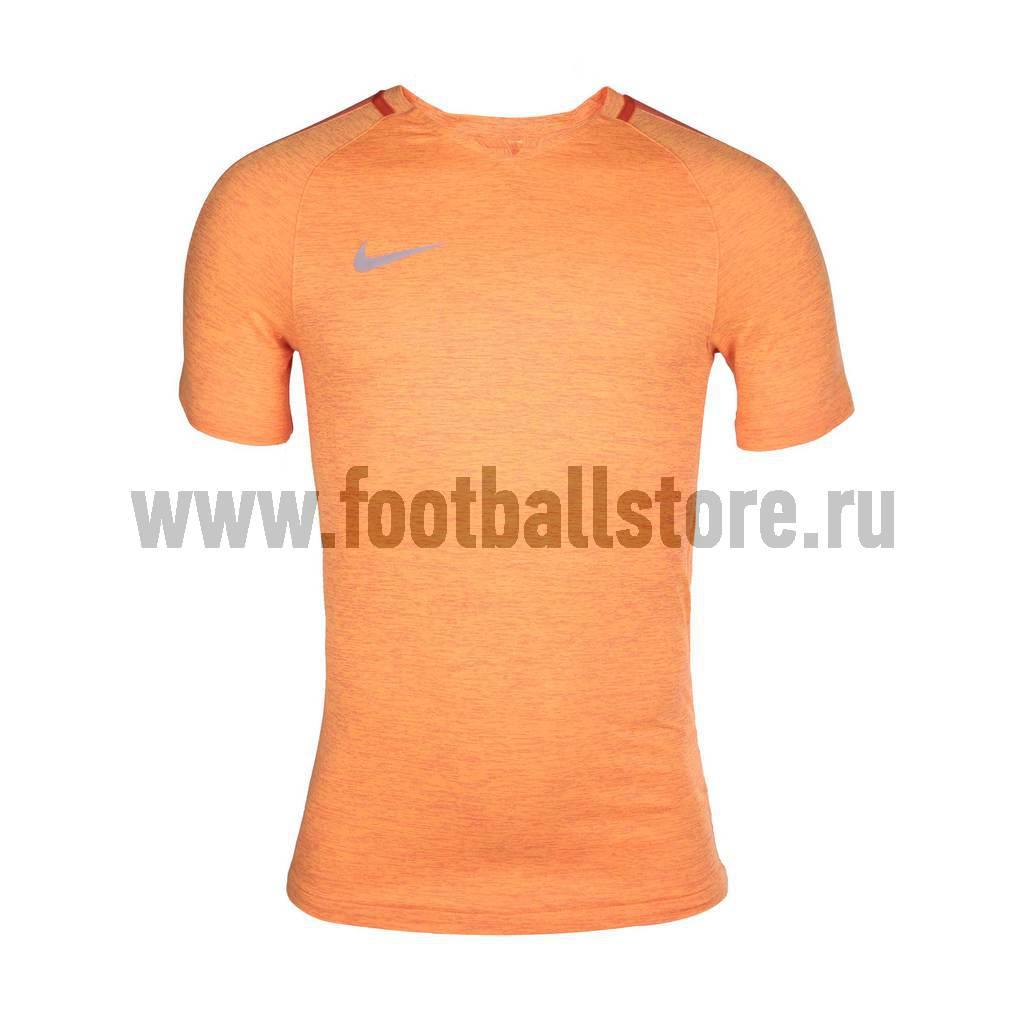 Футболки Nike Футболка тренировочная Nike M NK Dry Top SS SQD Prime 806702-842 игровая форма nike футболка игровая детская nike y nk dry sqd top ss 807269 842