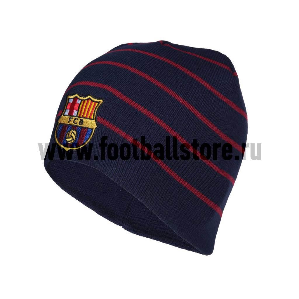 все цены на  Barcelona Атрибутика Шапка с вышивкой FC Barcelona  арт. 115114  в интернете
