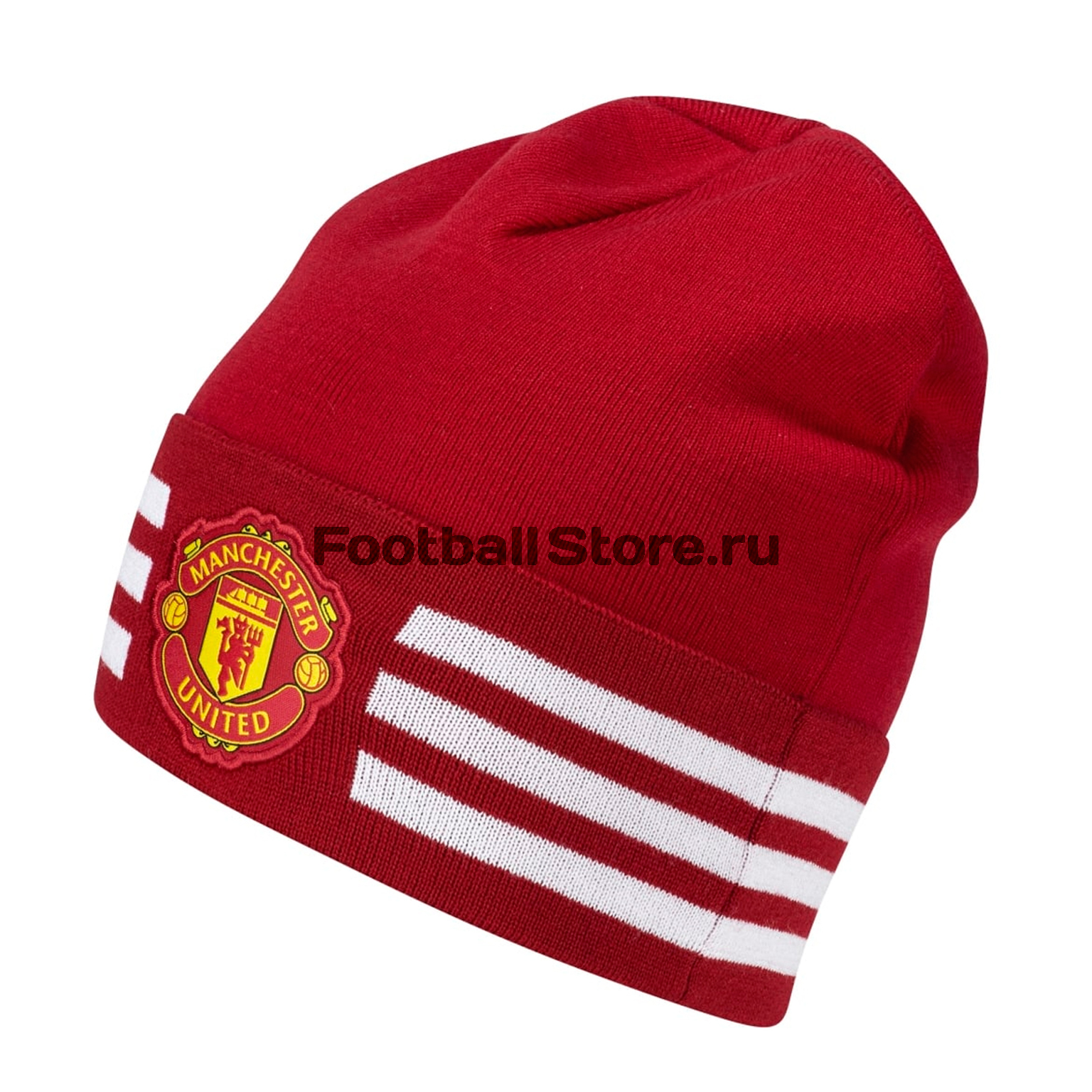 Manchester United Adidas Шапка Adidas Manchester United 3S Woolie S94976