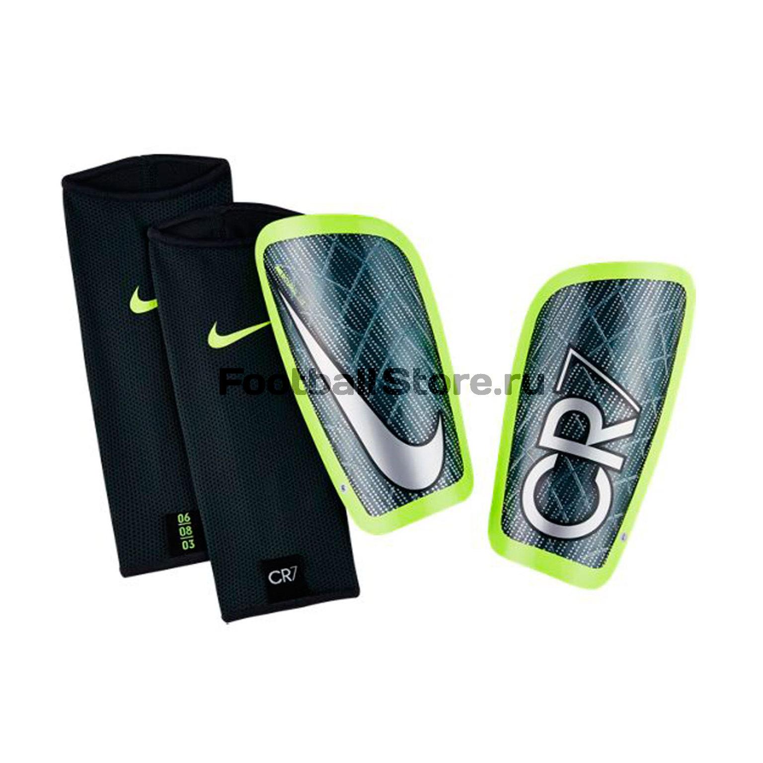 Защита ног Nike Щитки футбольные Nike CR7 Mercurial Lite SP2110-364 щиток приборов 2110 с отметкой 240км купить