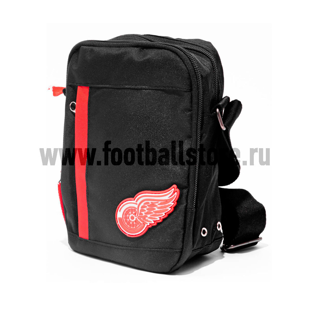 Сумка на ремне NHL Red Wings 58017 сумка на ремне nhl red wings цвет черный 3 5 л 58017 page 10