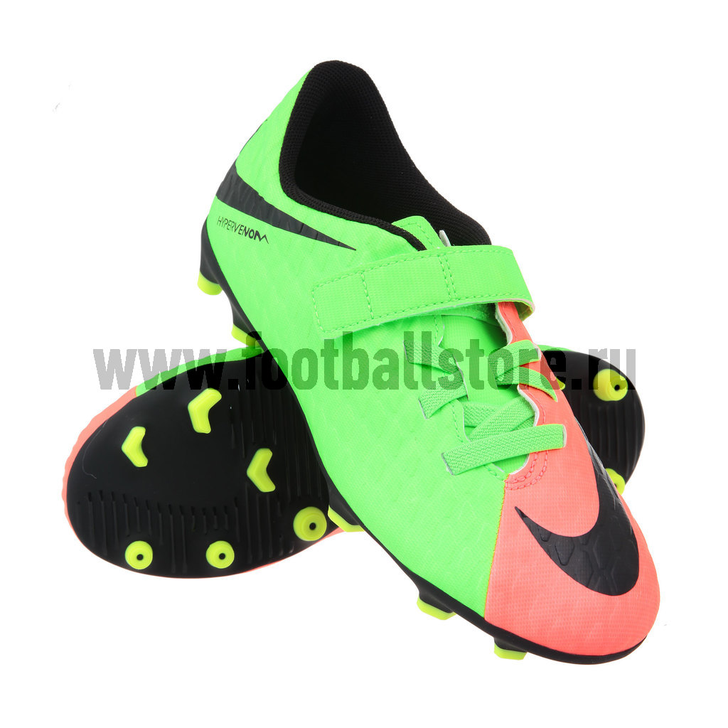 01e7adde ... Бутсы Nike JR Hypervenom Phade III (V) FG 852589-308. Скидка