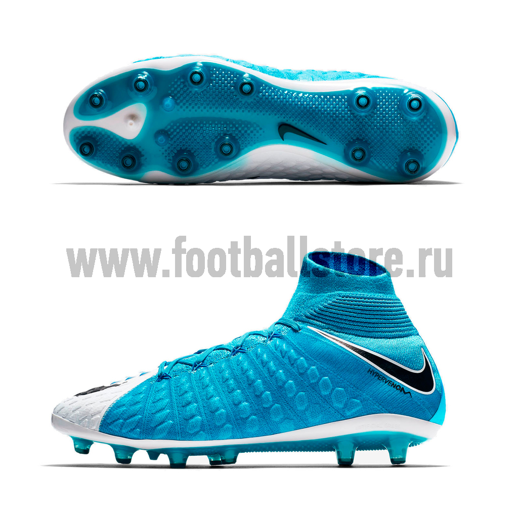 fee4fae4 Бутсы Nike Hypervenom Phantom 3 DF AG-Pro 852550-104 – купить бутсы ...