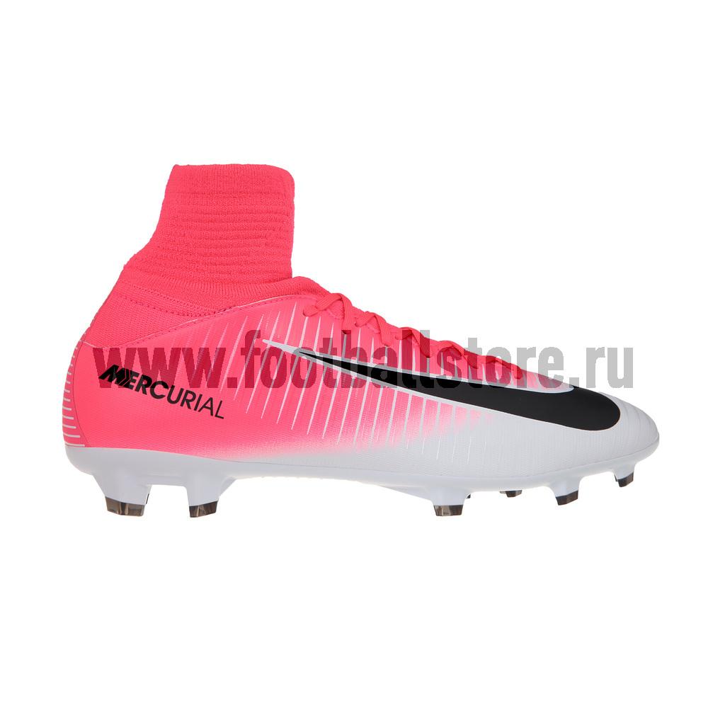 ... Детские бутсы · Nike  Бутсы Nike JR Mercurial Superfly V FG 831943-601.  Скидка 2e84082ed76
