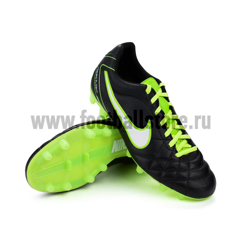 50bbfdcc Бутсы Nike Tiempo Flight FG 453959-013 – купить бутсы в интернет ...