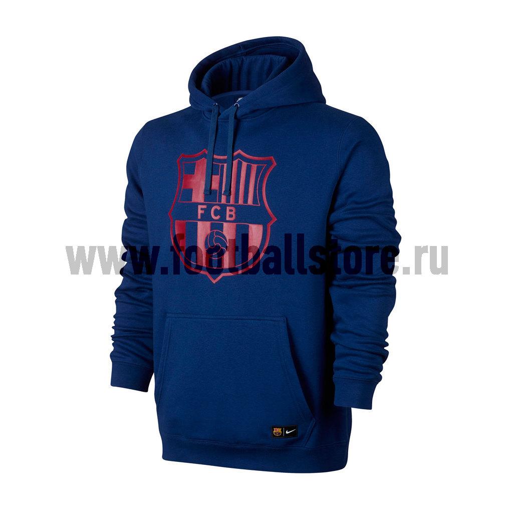 Толстовка Nike Barcelona Hoodie 886770-455 – купить в интернет магазине  footballstore 523007f882448