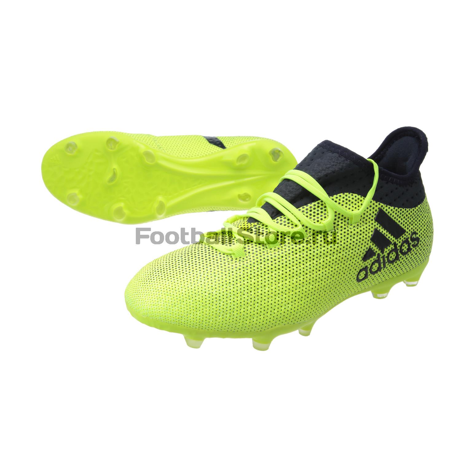 e4920d84 Детские Бутсы Adidas X 17.1 FG JR S82297 – купить в интернет ...