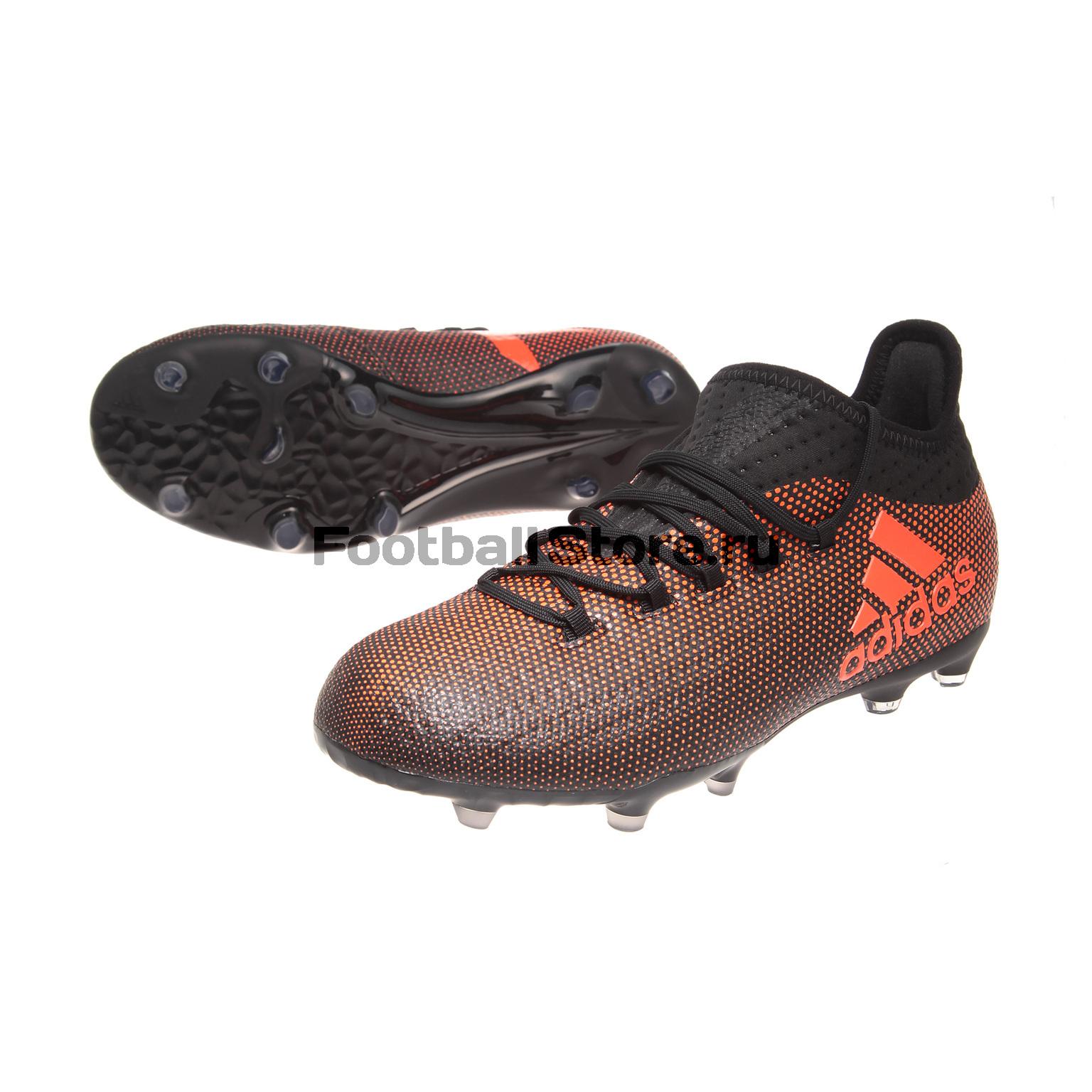 5201ba52 Бутсы Adidas X 17.1 FG JR S82296 – купить в интернет магазине ...