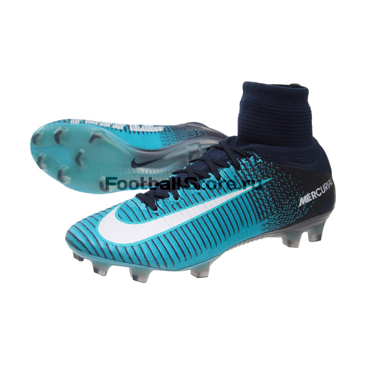 Бутсы Nike Mercurial Superfly V DF FG 831940-414 – купить бутсы в ... 1cdb4ab6dd2