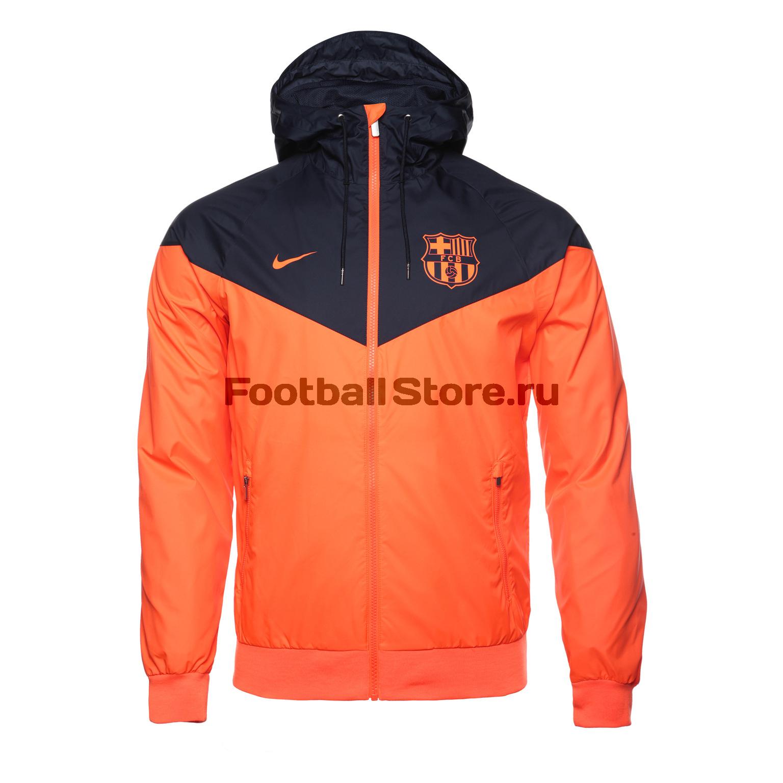 Ветровка Nike Barcelona Windrunner 886817-809 – купить в интернет ... 8dbb906fd338e