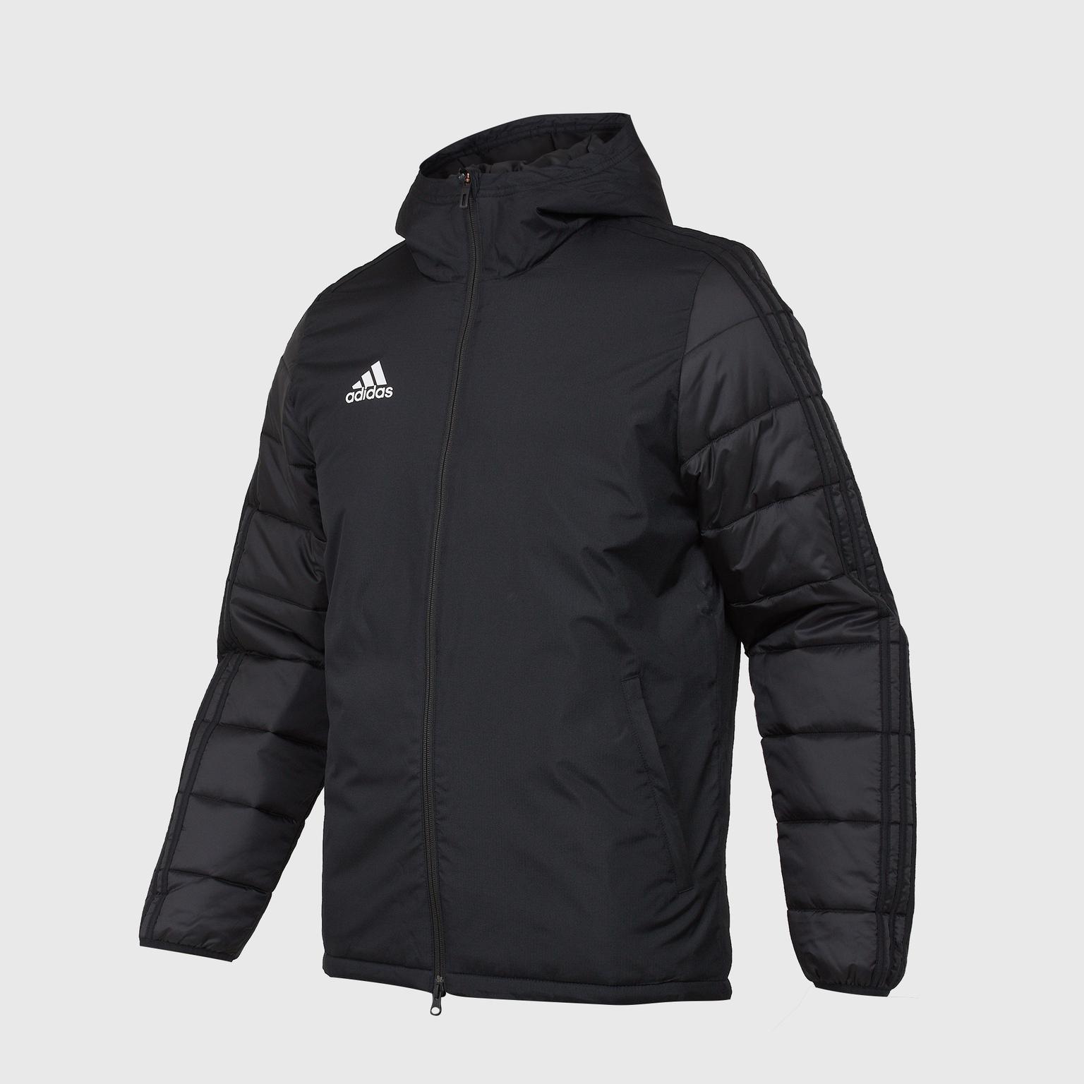 307aec34 Куртка утепленная Adidas JKT18 Winter BQ6602 – купить в интернет магазине  footballstore, цена, фото