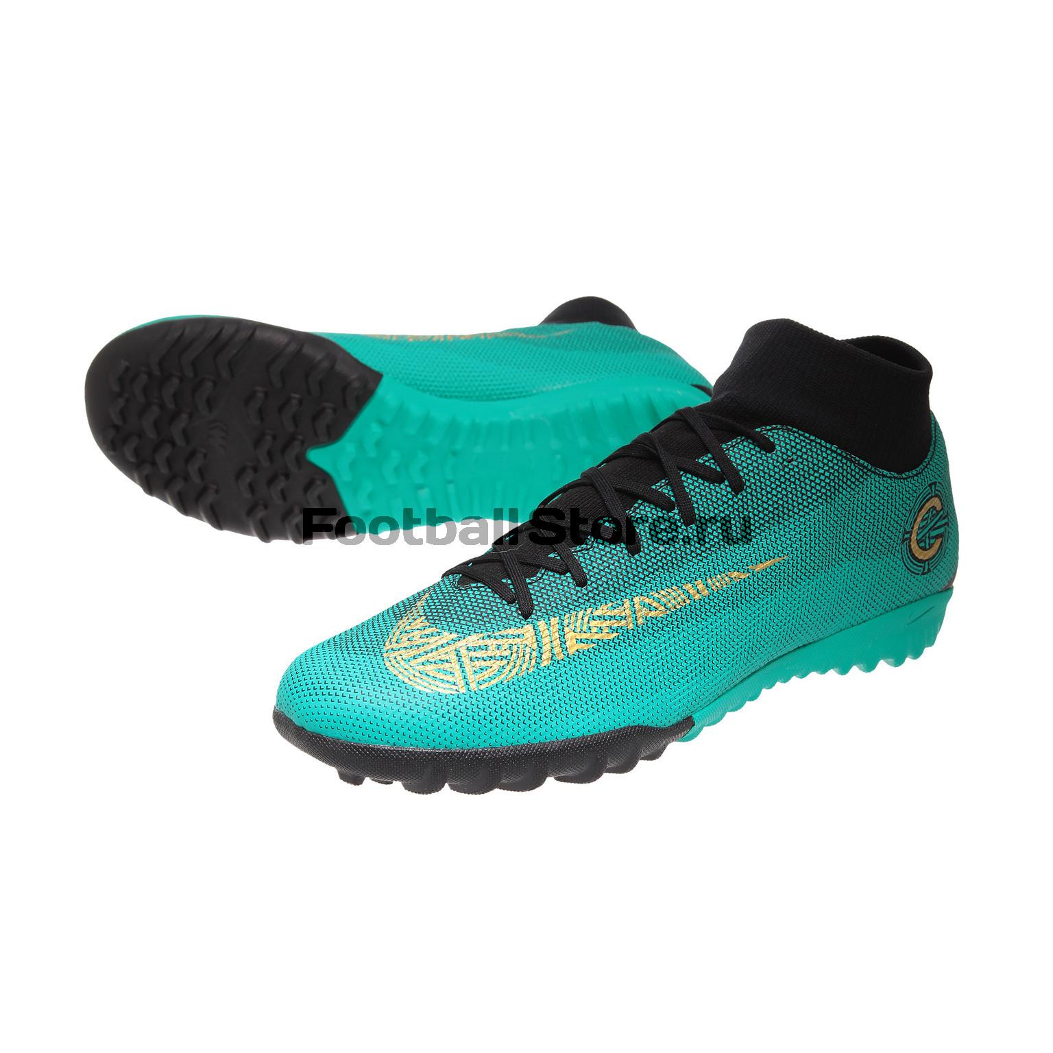 Шиповки Nike Superfly 6 Academy CR7 TF AJ3568-390 – купить шиповки в ... f1fe20c6bcd4