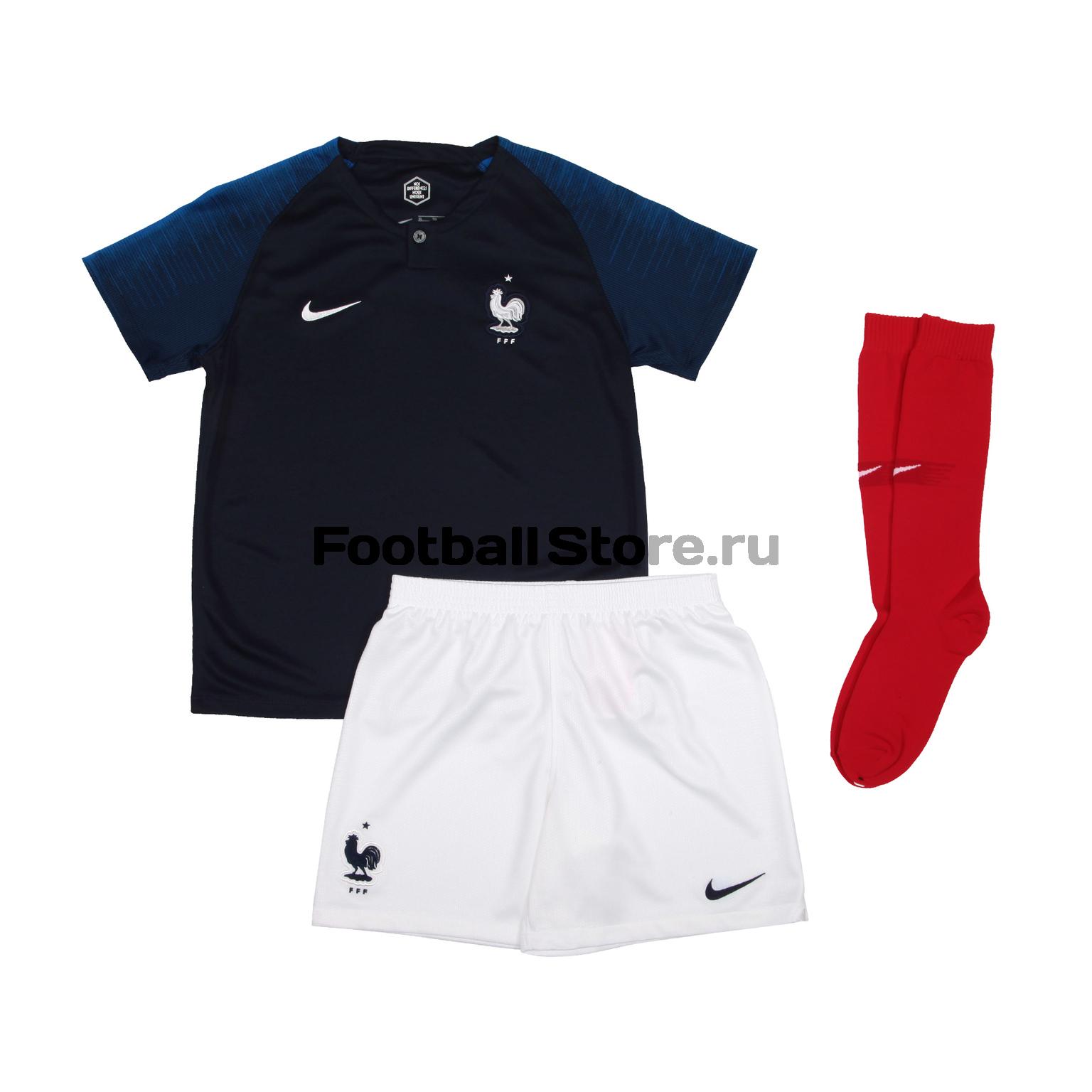 82d359a3 Комплект детской формы Nike сборной Франции 894043-451