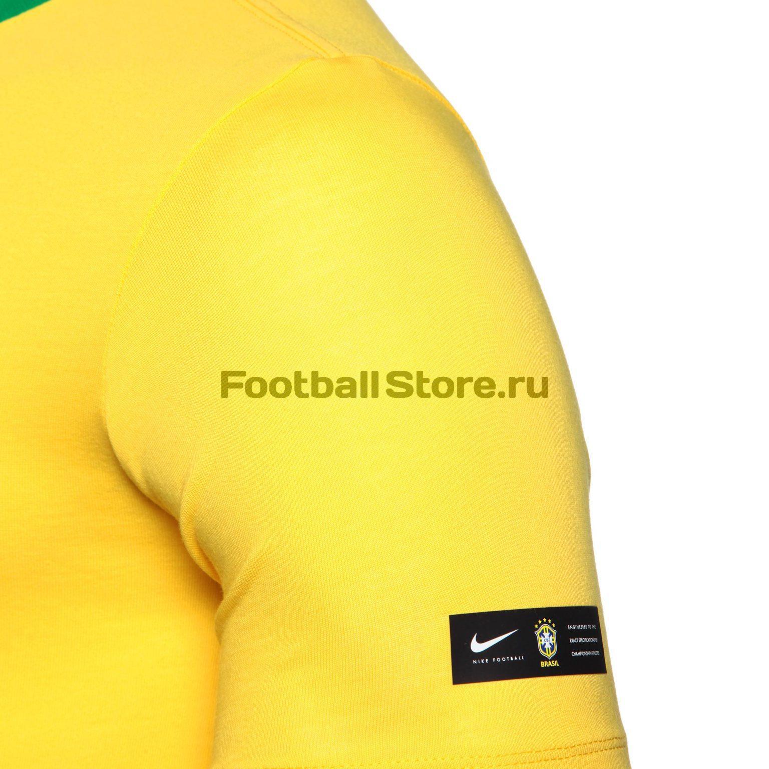 Футболка Nike сборной Бразилии 888320-749 – купить в интернет ... b9f3c1b370c