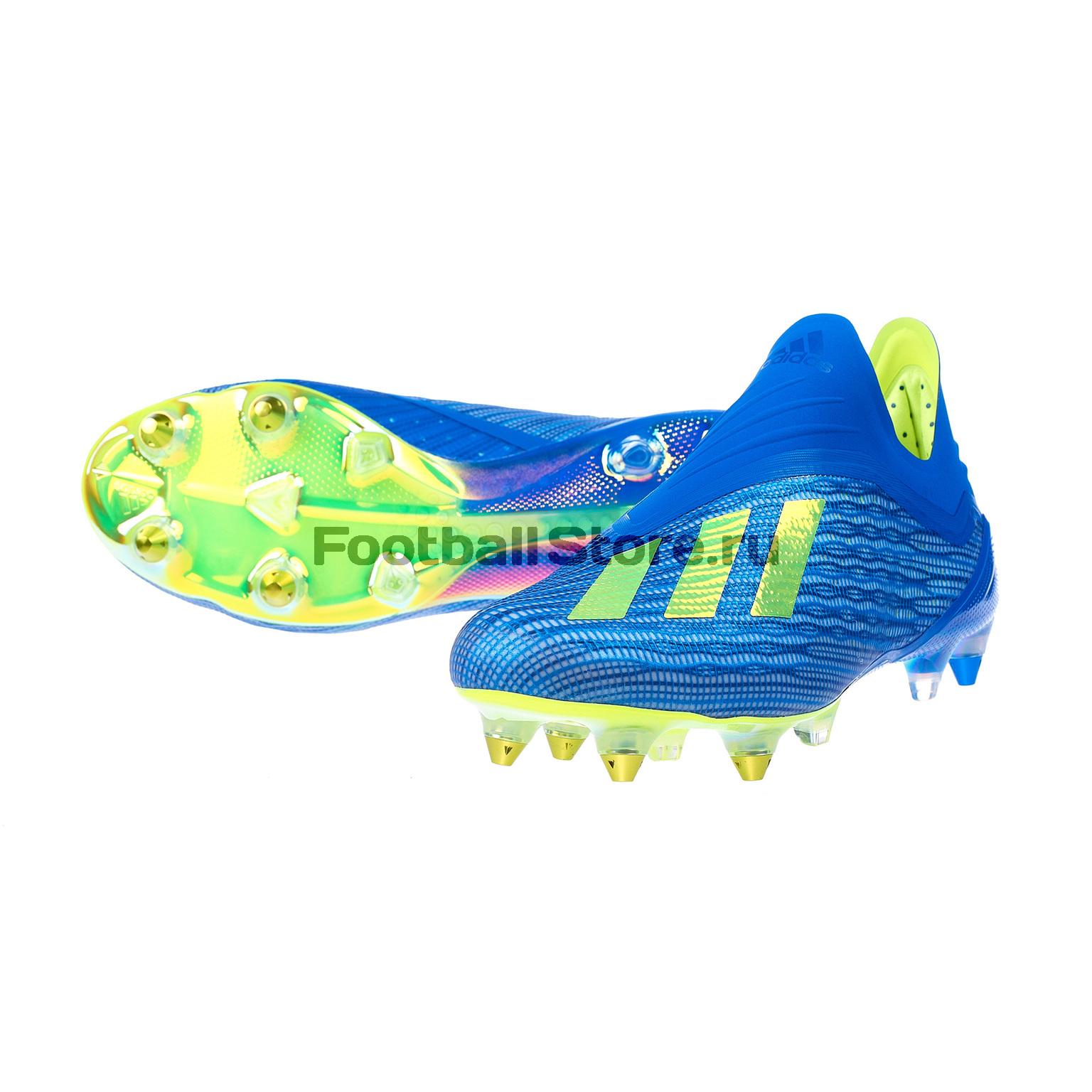 42ba9a2c Бутсы Adidas X 18+ SG CM8364 – купить бутсы в интернет магазине ...