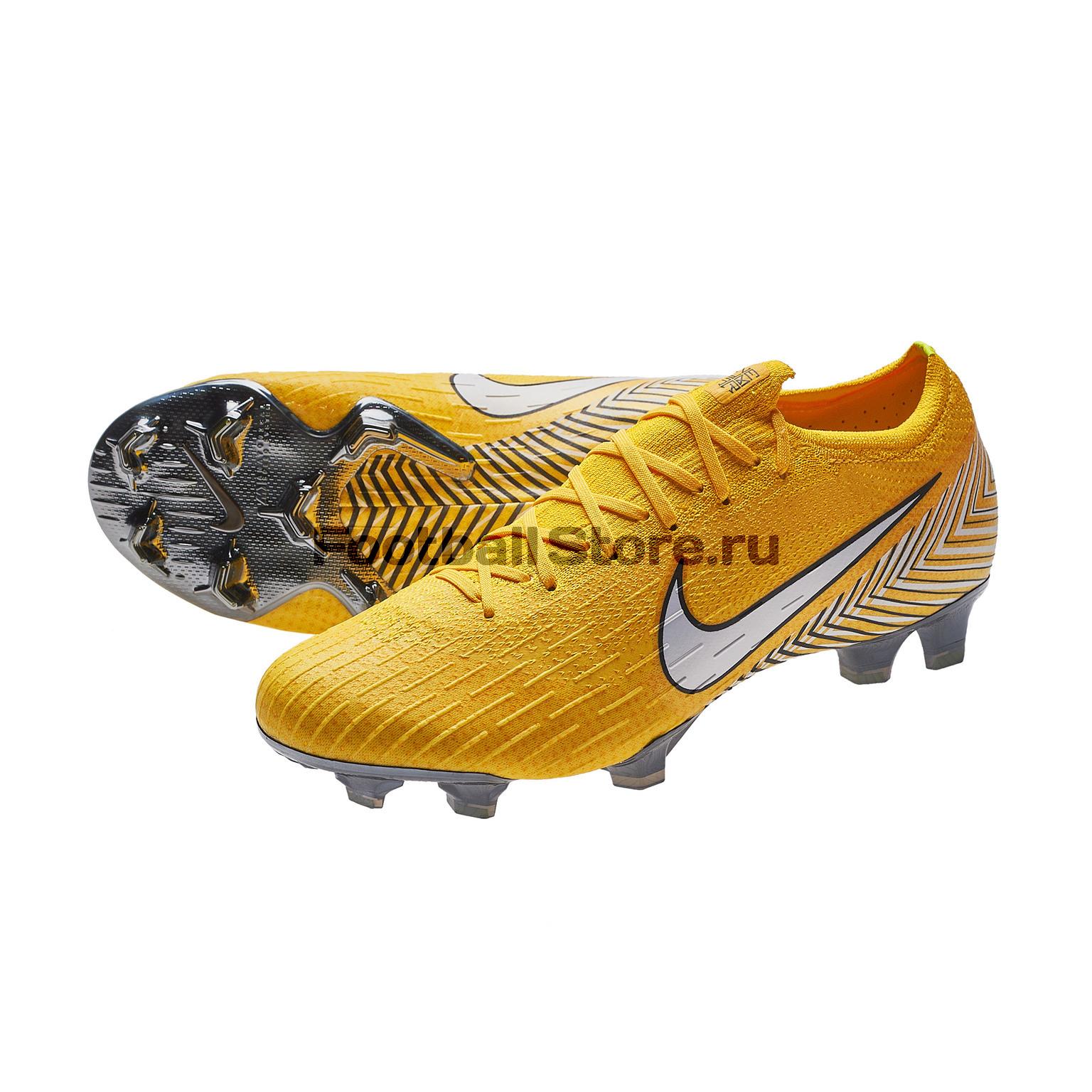 6df7cd35 Бутсы Nike Vapor 12 Elite Neymar FG AO3126-710 – купить бутсы в интернет  магазине Footballstore, цена, фото, отзывы