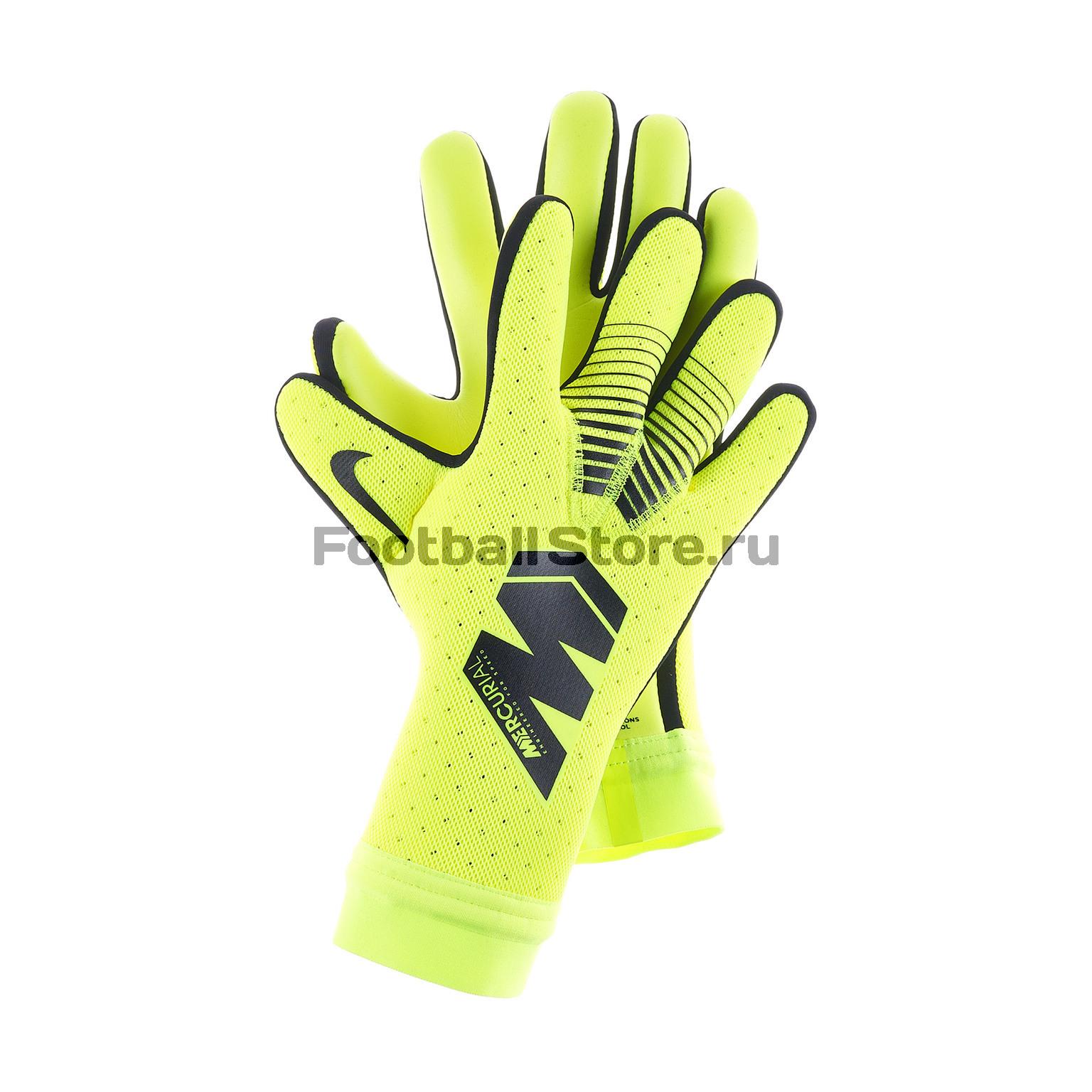 Перчатки вратарские Nike GK Mercurial Touch Elite GS0356-702 - купить в  интернет магазине Footballstore, цена, фото 59ad22279ec