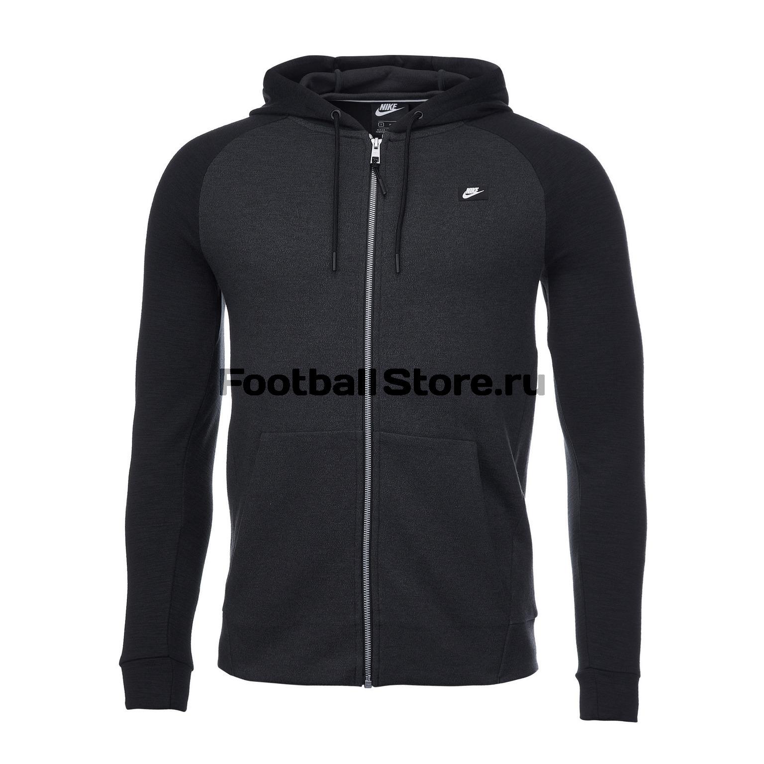 a2b82560 Толстовка Nike Optic Hoodie 928475-010 – купить в интернет магазине  footballstore, цена, фото