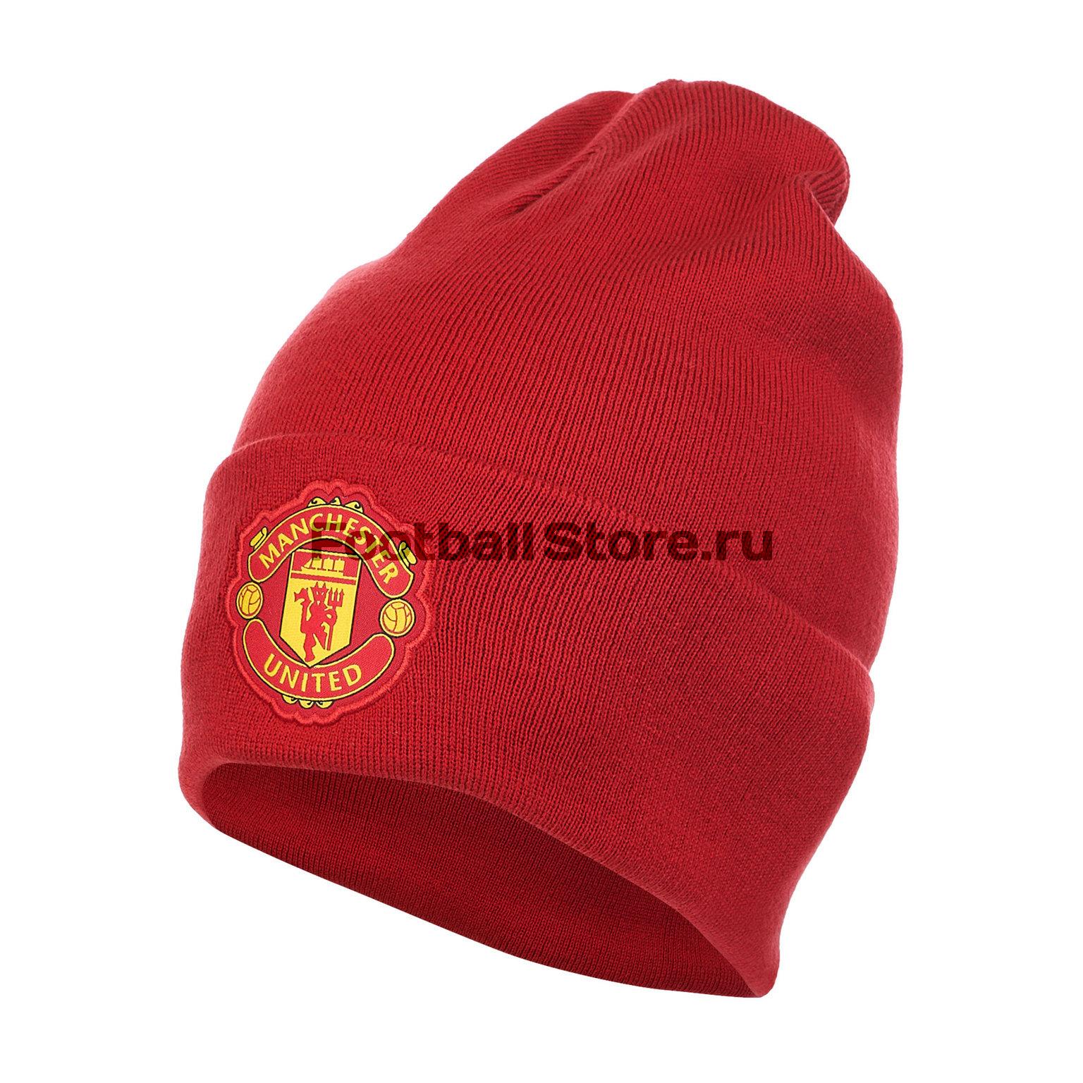 Шапка Adidas Manchester United 3S Woolie CY5565 – купить в интернет магазине  footballstore 6ef003c4fb64c