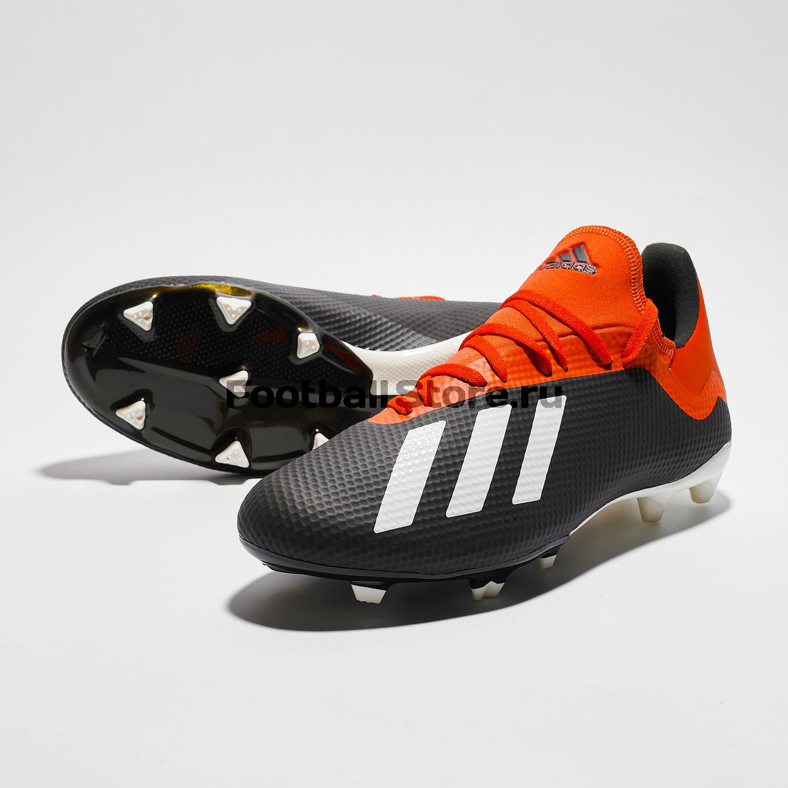 Бутсы Adidas X 18.3 FG BB9366 – купить бутсы в интернет магазине  footballstore, цена, фото 7d80b896eac