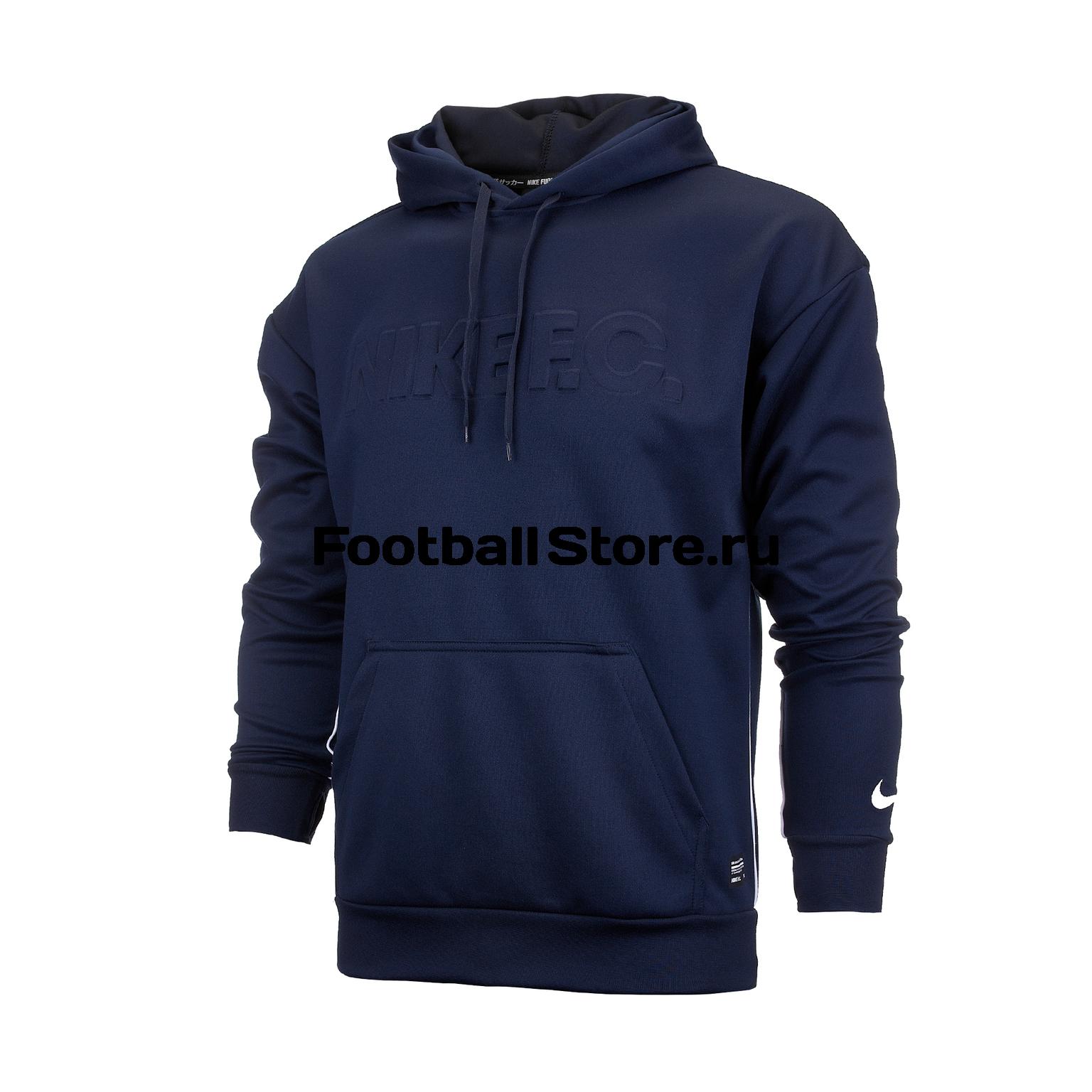 3c325e15 Толстовка Nike F.C. Hoodie AR8002-451 – купить в интернет магазине  footballstore, цена, фото