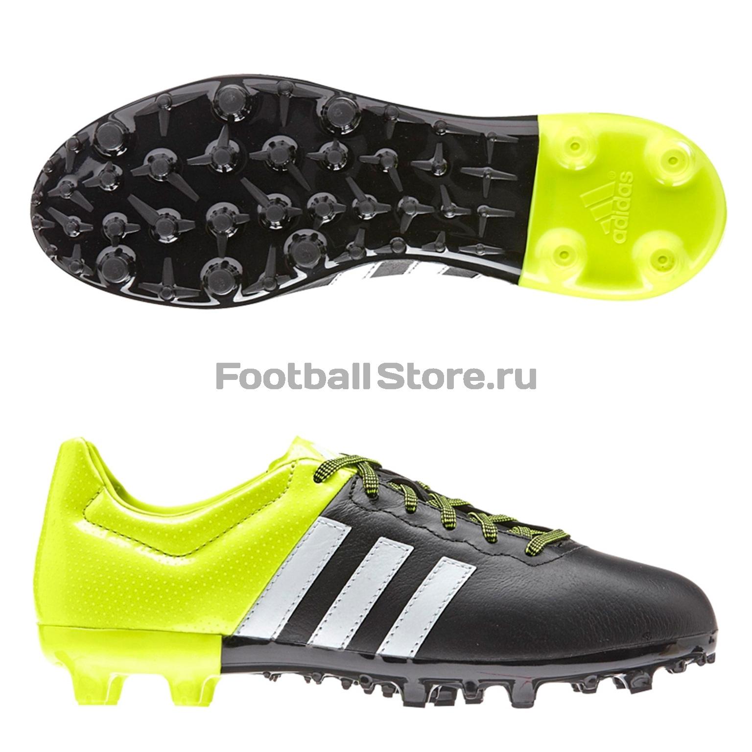 e6b5df9d Бутсы Adidas ACE 15.3 FG/AG JR B32808 – купить в интернет магазине ...