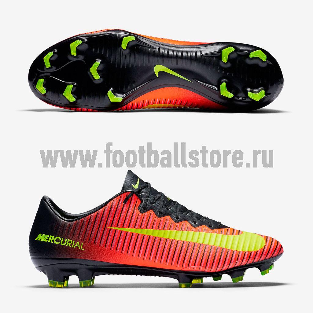 4c5efb44 Бутсы Nike Mercurial Vapor XI FG 831958-870 – купить бутсы в ...